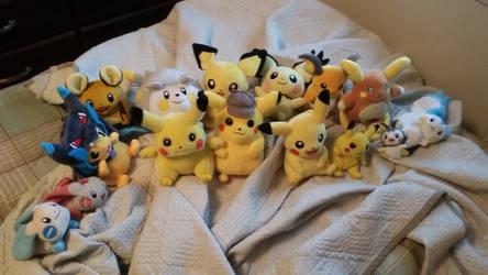 The Pikachu Family 3 by StarWarriorRobby