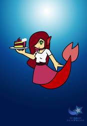 Mermay Day 10- Rosa the Mermaid by StarWarriorRobby