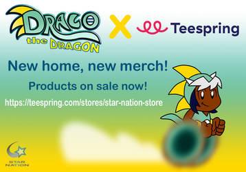 Draco X Teespring Ad