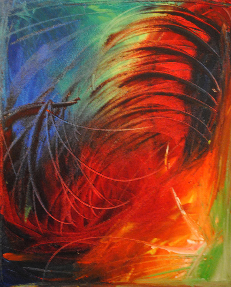 Abstract paintings by Zebrarofl