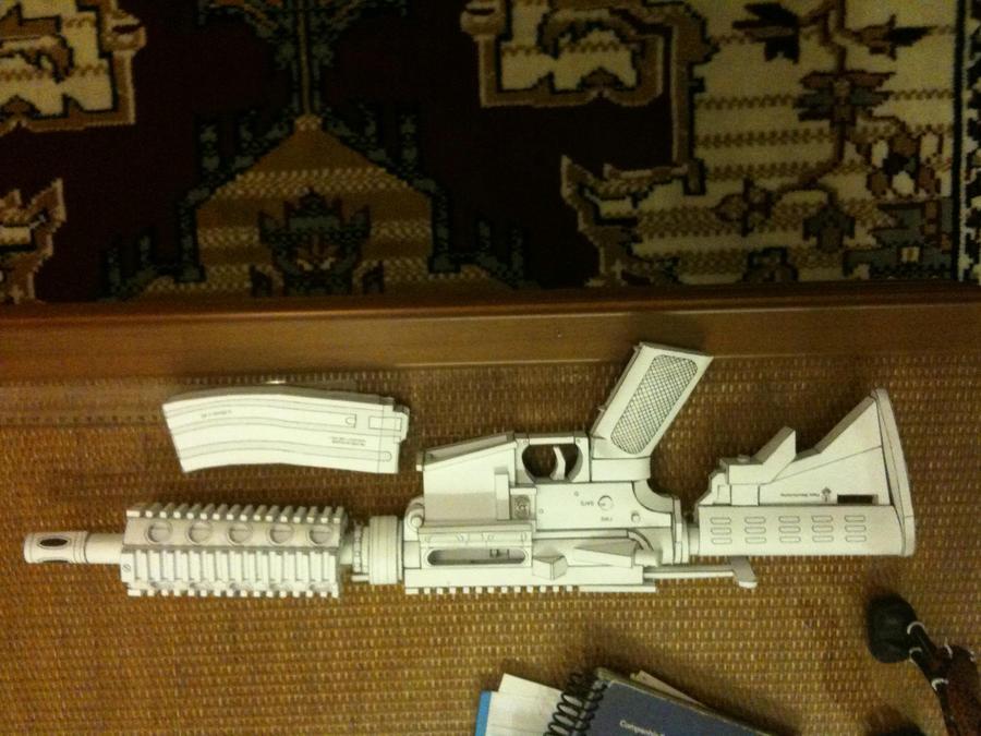 m4 papercraft 2 by flavio24hh