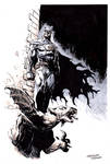 Sketches at NYCC 2014: BATMAN by FrancescoTrifogli