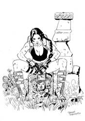Lara Croft by FrancescoTrifogli