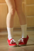 Red Shoes by IxoxI