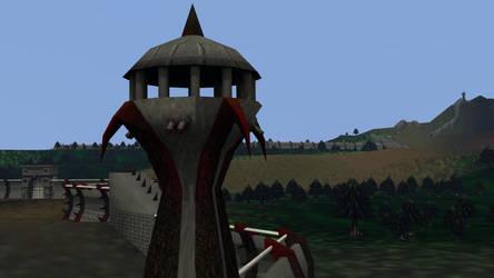 Coastal Watchtowers (South Wall)
