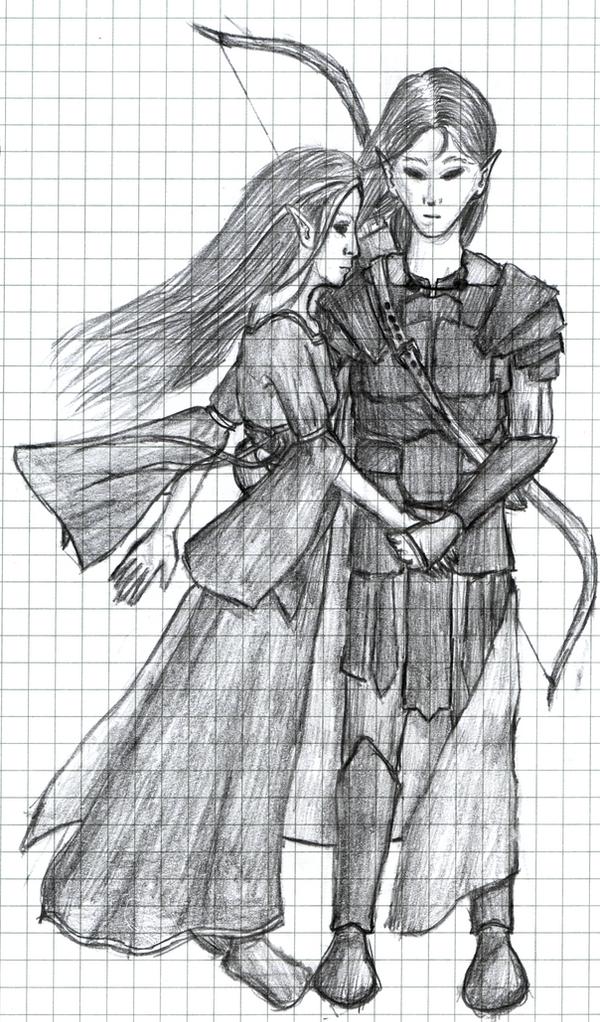 Caphalor and Enoila by Kimni