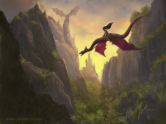 Dragon Rider by Quilde