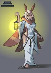 Mothgirl Pristess [Monster Girl Generator]