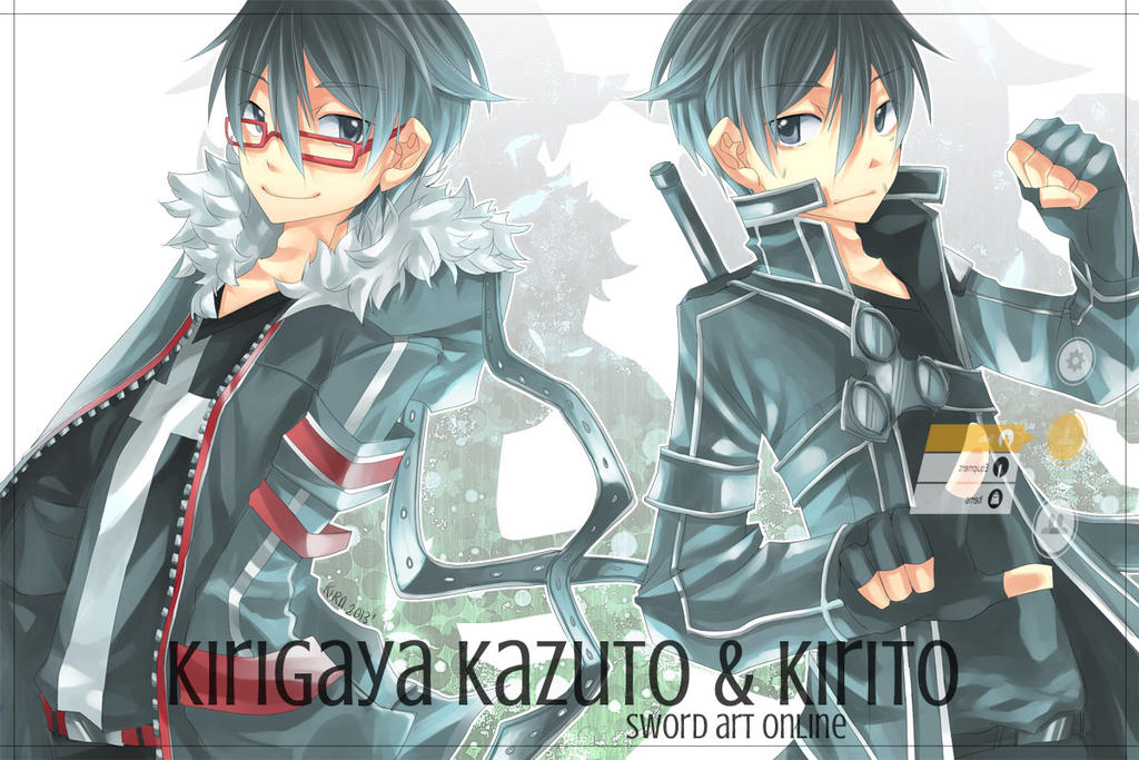 Two Kirito by k0423