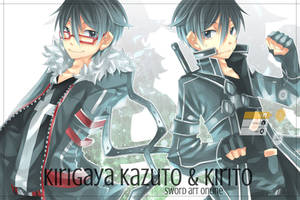 Two Kirito by k0423