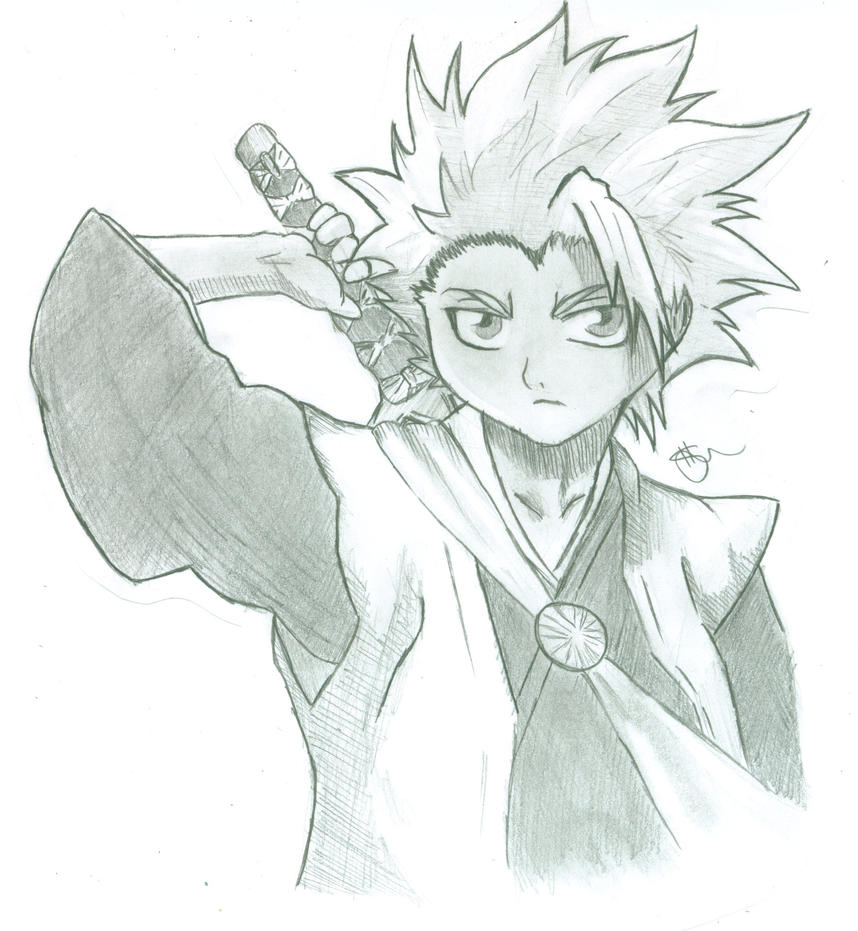 Hitsugaya by rainyfurz