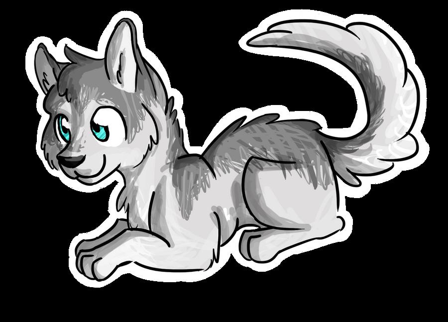 Husky Puppy by rainyfurz on DeviantArt Cute Husky Puppy Drawings