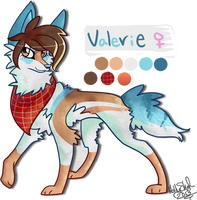 Valerie -New OC- by rainyfurz
