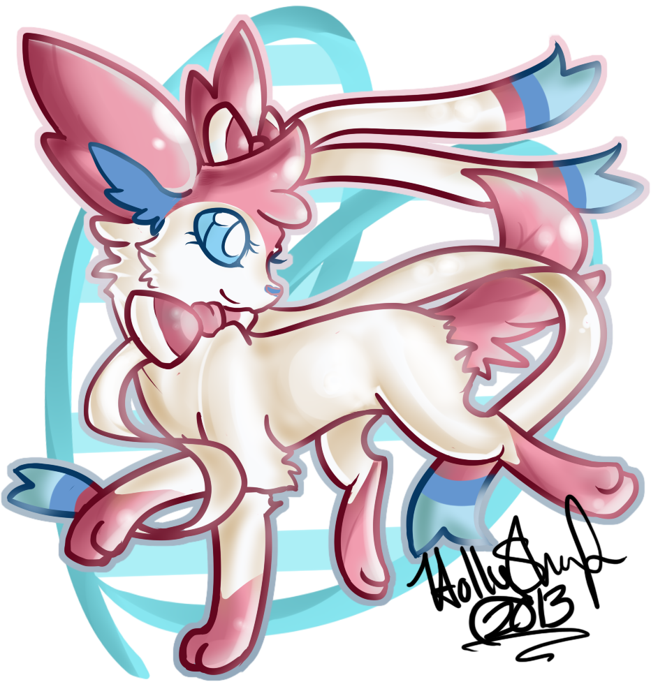 Sylveon by rainyfurz