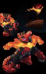 Incineroar -quadruped version- 2