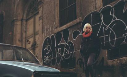 Blonde Girl by cigdemyigitcan