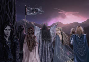 Tarnin Austa - Age of Gondolin by SaMo-art