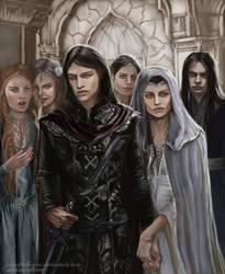 Half Noldor - Aredhel and Maeglin return