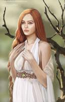 Nerdanel the Wise by SaMo-art