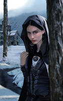 Morwen in Dor-lomin by SaMo-art