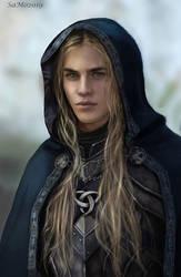 Merlin (for Ivan) by SaMo-art