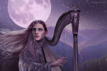 Rivendell Moon by SaMo-art