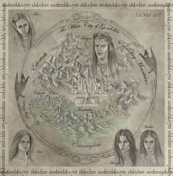 Gondolin city map