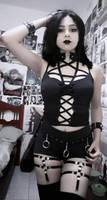 goth girl #choker
