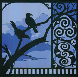 Crows by kokiri85