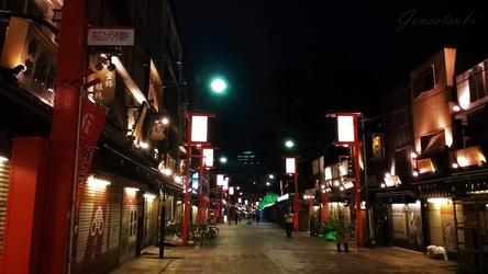 Asakusa Night by Gensotsuki