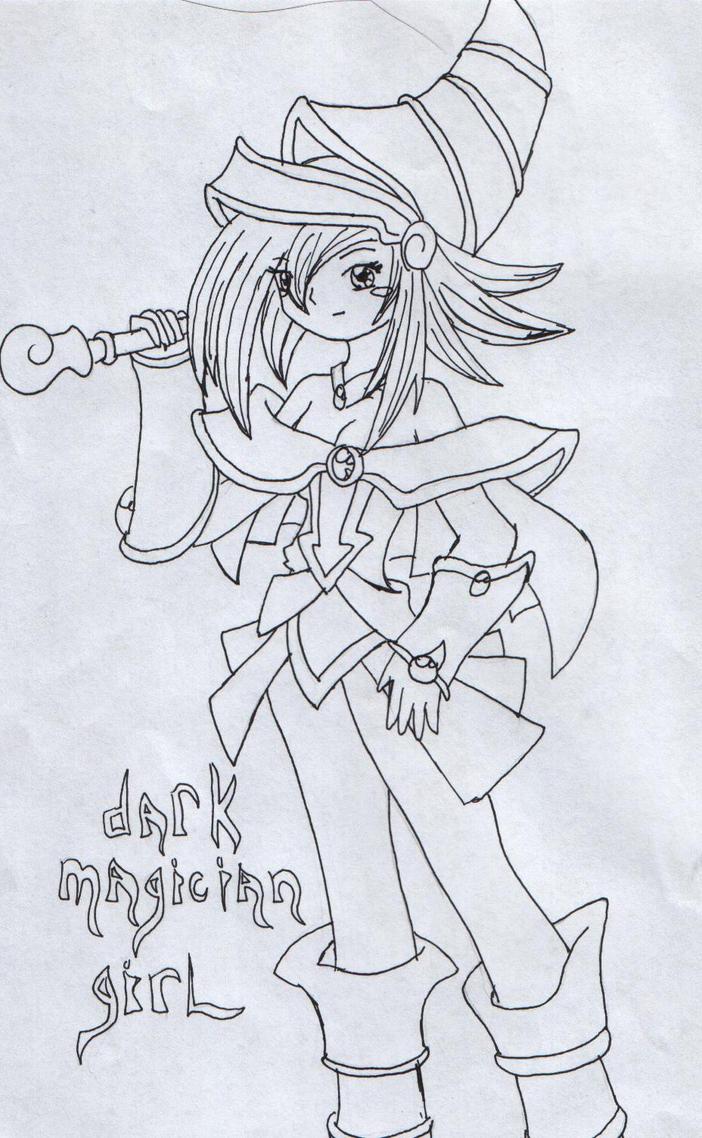 dark magician girl by doggy-love