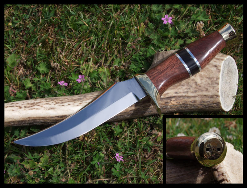 Fathers Day knife by skull-collector