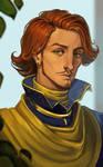 Portrait of Laurus Vergilios
