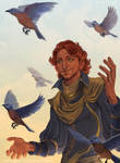 Laurus and birds