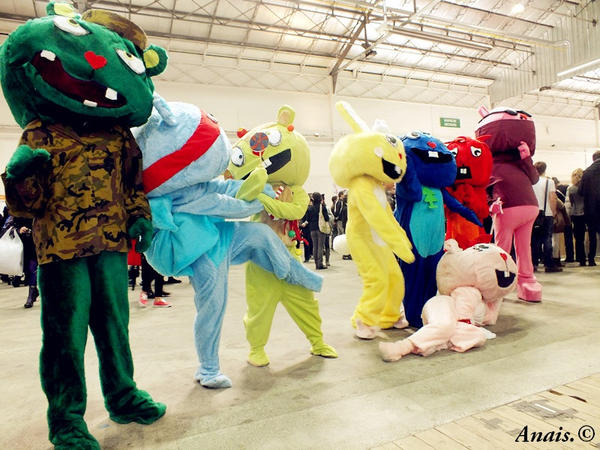 Cosplay happy tree friends by tenshitrash on DeviantArt