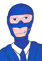 Blue Spy TF2