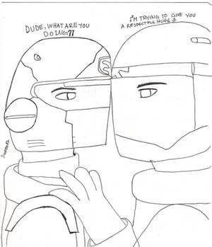 Battlefield 2142 A respectful hug
