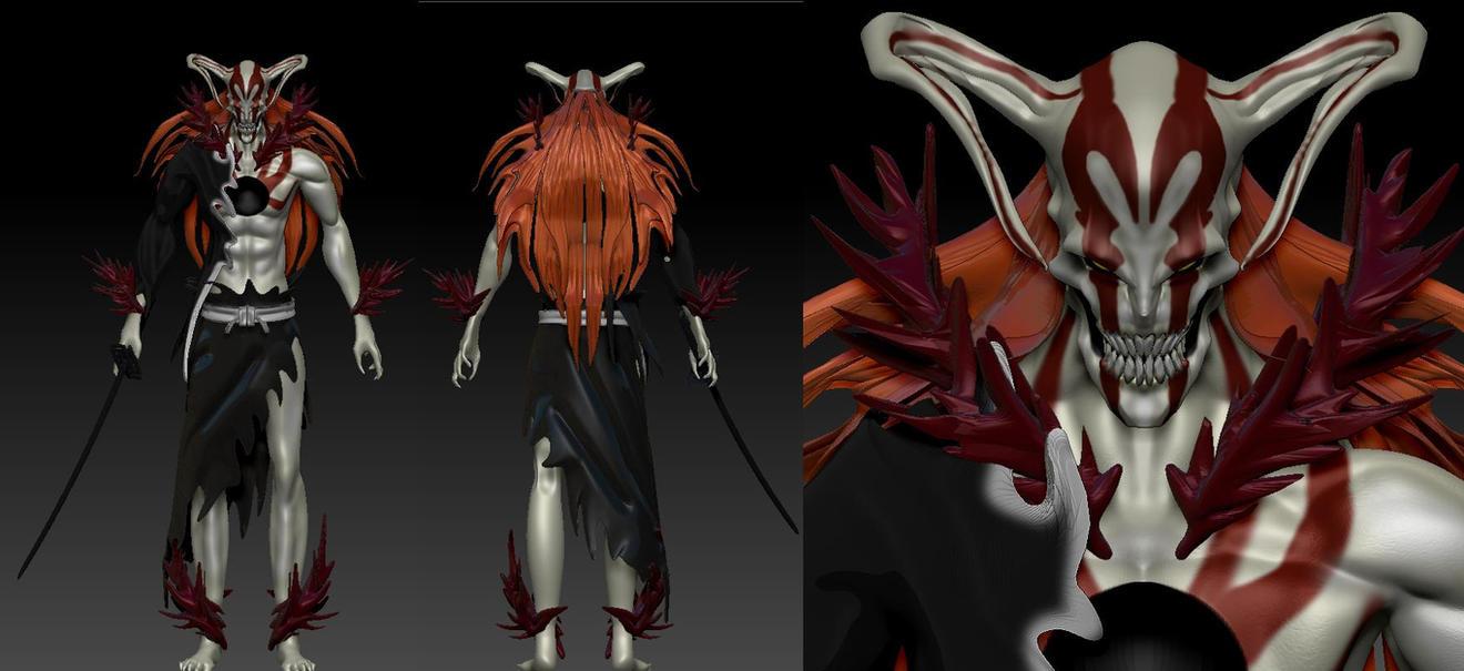 Ichigo Vasto Lorde BLEACH by Zerofrust on DeviantArt