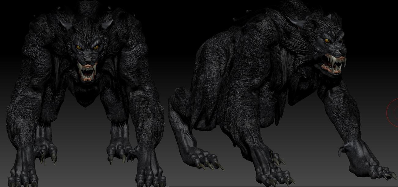 Demon werewolf skyrim - photo#6