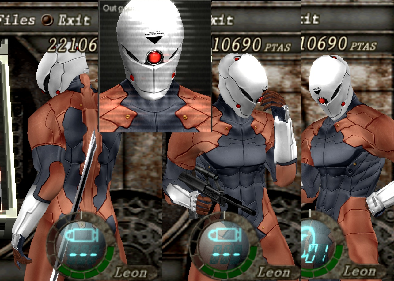 Gray Fox In resident evil 4 1 by Zerofrust & Grey Fox - Halloween costume by cjhonline on DeviantArt