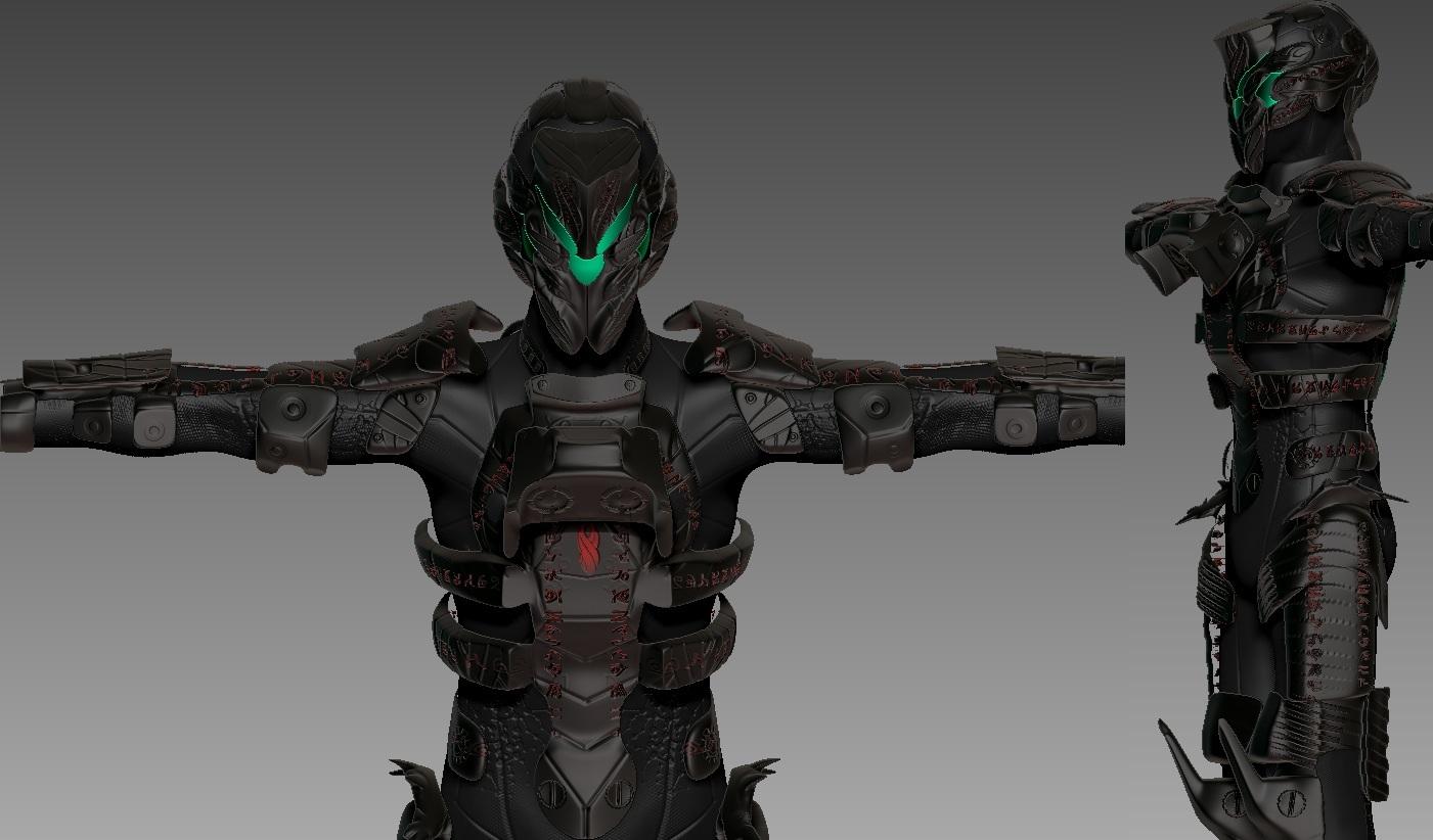 DeadSpace2 Marker Suit concept by Zerofrust on DeviantArt on