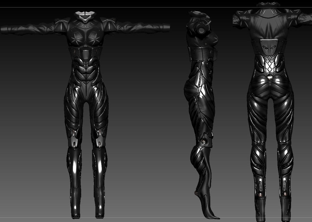 Deus Ex ReV cybernetic Legs by Zerofrust