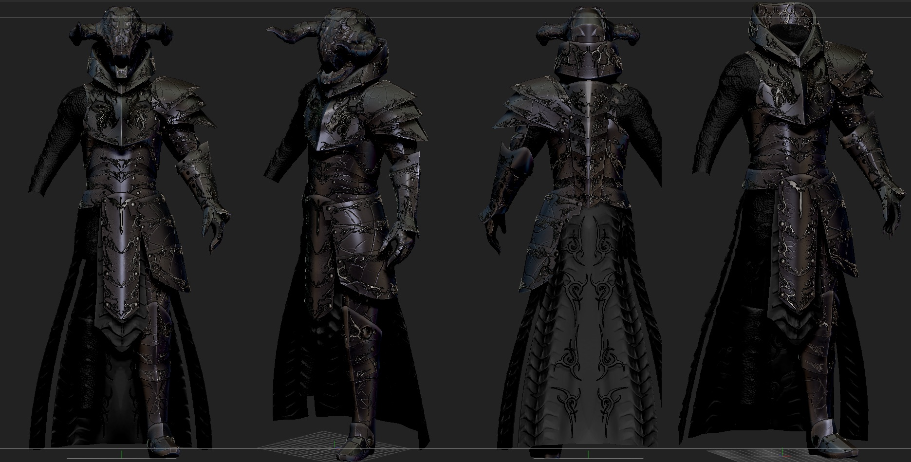 Dragonlord Skyrim Custom Armor By Zerofrust On Deviantart Did you scroll all this way to get facts about dragon armor skyrim? dragonlord skyrim custom armor by