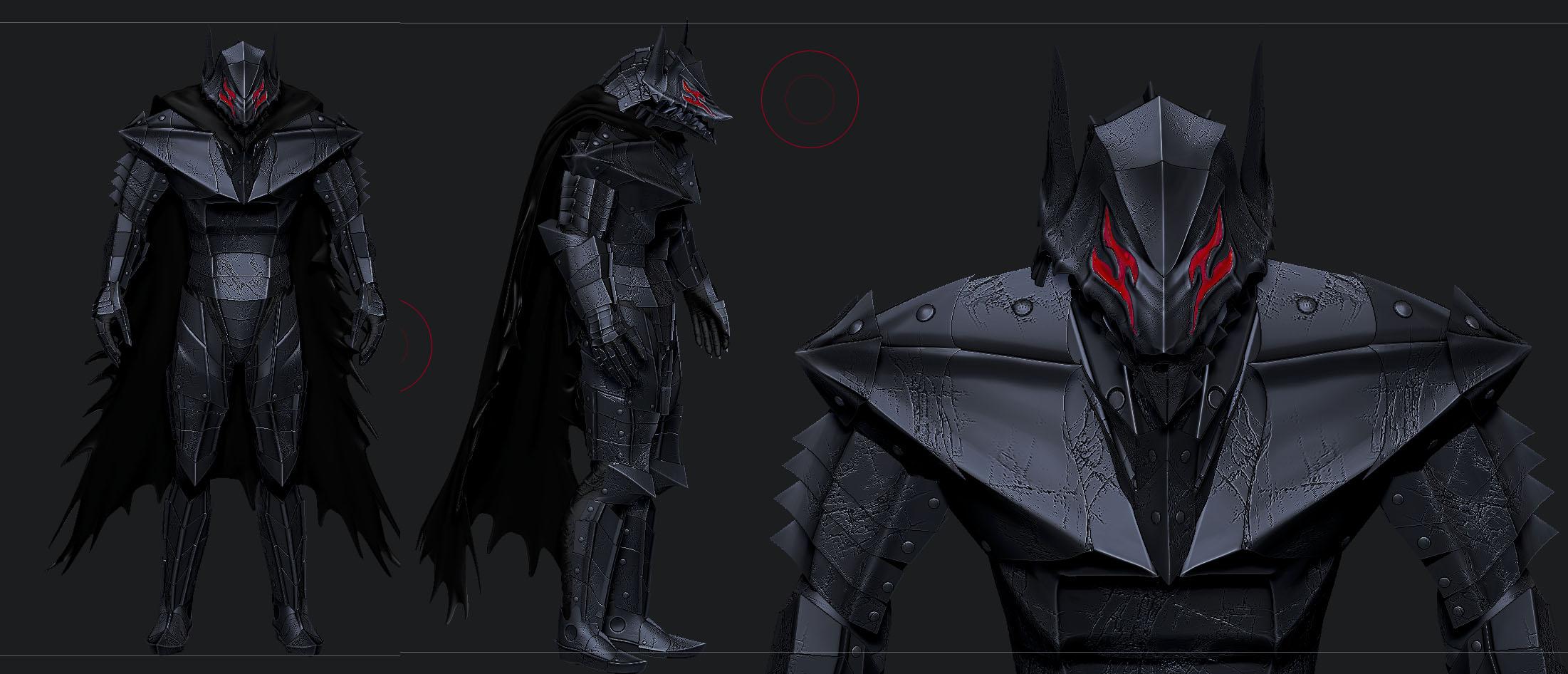 Medusa Armor Low Poly Render 2 at Skyrim Nexus - mods and