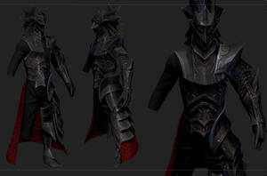 KNight of thorns Steel Armor  for skyrim by Zerofrust