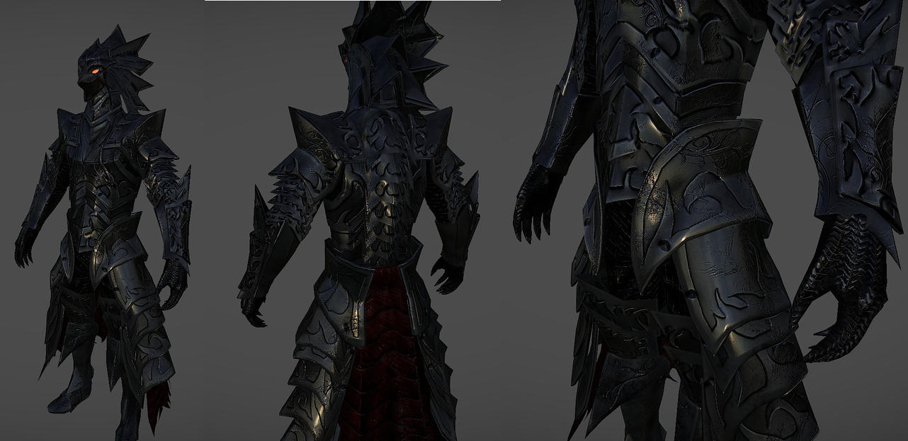 Knight of THorns Armor for skyrim by Zerofrust