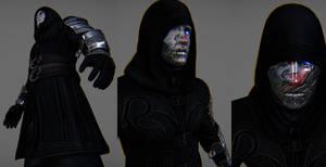 Crimson Tear Order Skyrim armor 1