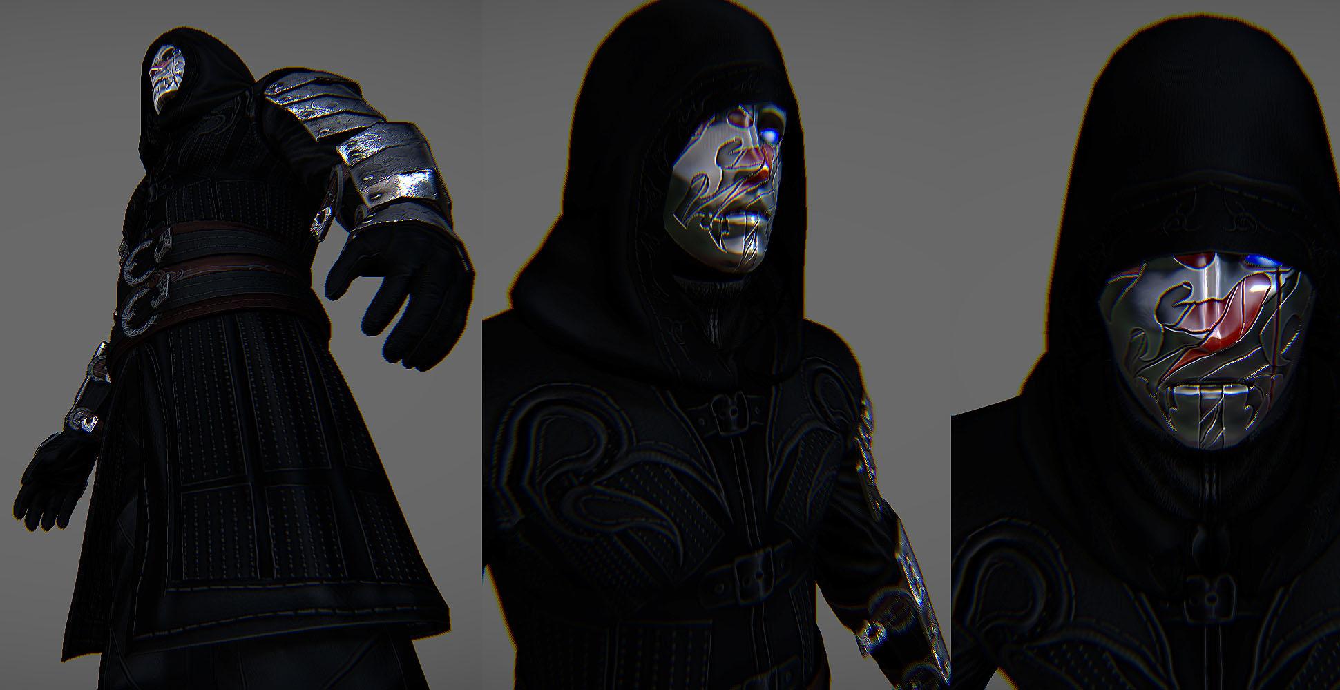 Crimson Tear Order Skyrim armor 1 by Zerofrust