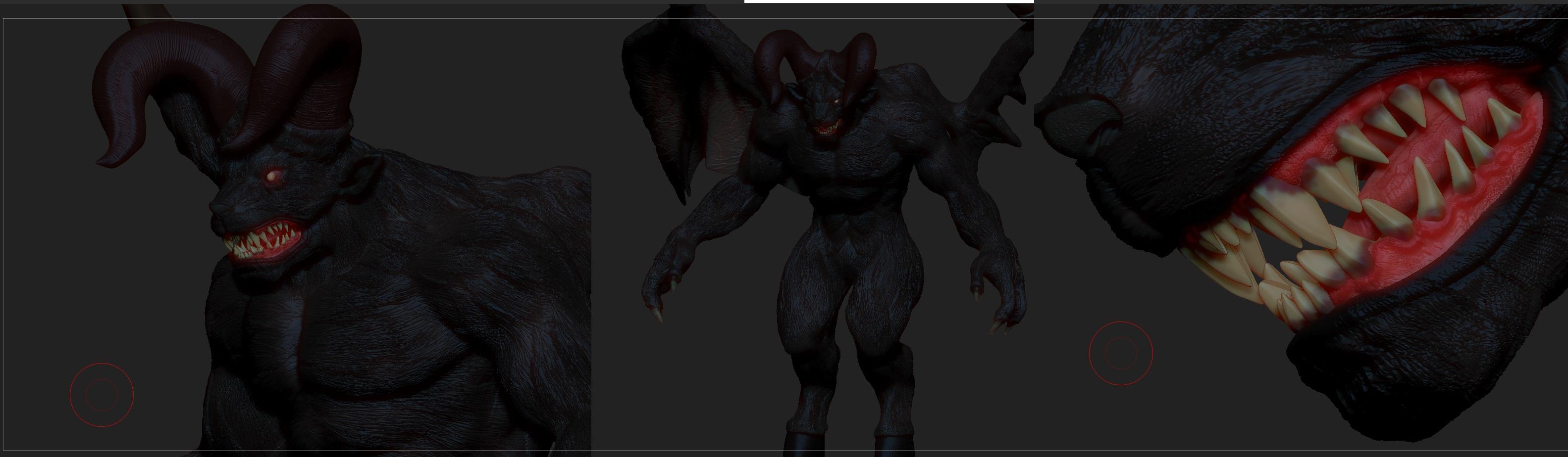 Demon werewolf skyrim - photo#9
