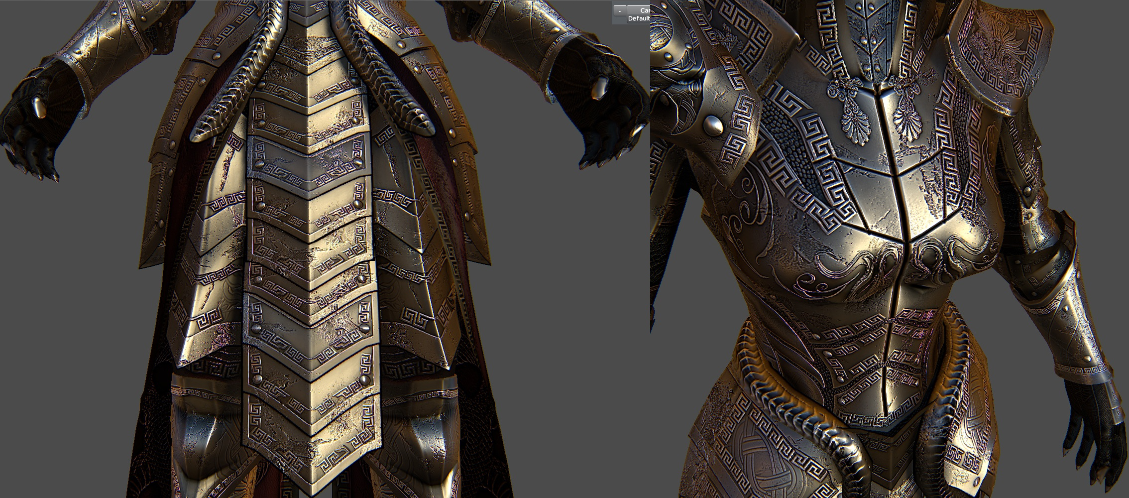 Medusa Armor For Skyrim 3 by Zerofrust
